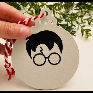 Harry Potter wooden silhouette ornament new